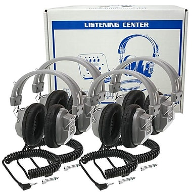 Buhl Lab Pack 4 HA7 Deluxe Headphones in a Laminated Cardboard Carry Case
