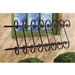 Design Toscano European Metal Window Grille Wall Decor