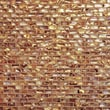 Bedrosians Series Mosaic Liner Tile in Antique Gold