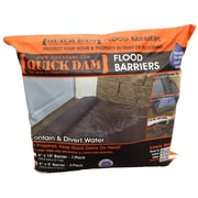 "Quick Dam Flood Barriers 6"" x 5' (60"") 2/Pack"
