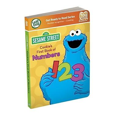 LeapFrog® Tag™ Junior in.Cookie Monster's First Book of Numbersin. Book, Ages 2-3 Years