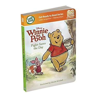 LeapFrog® Tag™ Junior in.Disney's Winnie The Pooh: Piglet Saves The Dayin. Book, Ages 1-3 Years