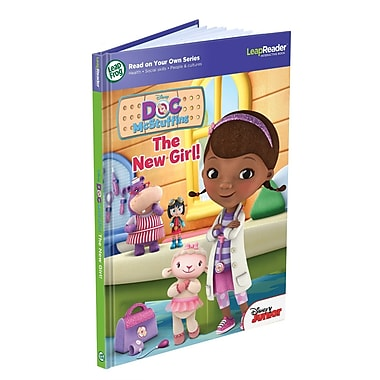 LeapFrog® LeapReader™ in.Disney Doc McStuffins: The New Girlin. Book, Ages 4-8 Years
