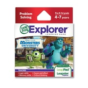 LeapFrog® Explorer™ Disney Pixar Monsters University Learning Game, Ages 4-7 Years