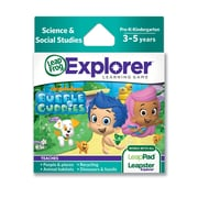 LeapFrog® Explorer™ Nick Bubble Guppies Learning Game, Ages 3-5 Years