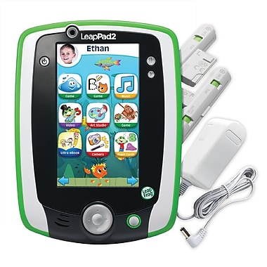LeapFrog LeapPad2™ Power Kids Learning Tablet, Ages 3-9 Years, GreenSorry, this item is currently out of stock.
