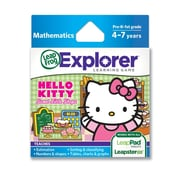 LeapFrog® Explorer™ Sanrio Hello Kitty Sweet Little Shops Learning Game, Ages 4-7 Years