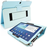 "Snugg Polyurethane Leather Folio Case Cover and Flip Stand for 10.1"" Samsung Galaxy Tab 3"