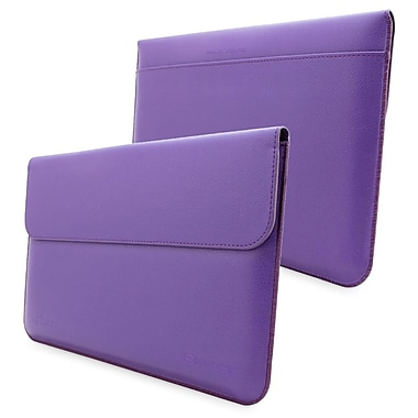 Snugg Leather Wallet Case For Microsoft Surface 1 RT and 2 Pro, Purple