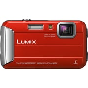 Panasonic-Cameras Lumix Active Lifestyle Tough Dmc-Ts25r, Red