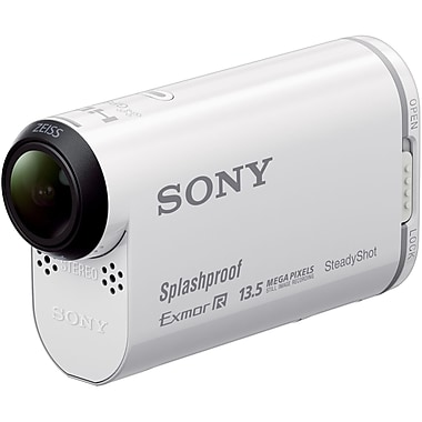 Sony - Camcorders Hdr-As100v Hdras100v/W Action Cam