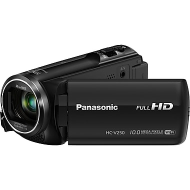 Panasonic-Cameras Full Hd Wi-Fi Enabled Hc-V250k 50x Camcorder