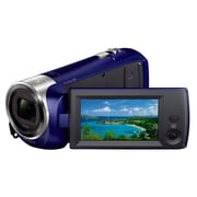 Sony - Camcorders Video Camera Hdrcx240/L Blue With 2.7 Lcd