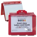 Better Office Products Index Card Binder & Notebook