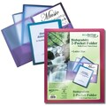Better Office Products Poly Portfolio with Clear View Front Cover
