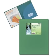 Better Office Products Pocket Poly Presentation Folder