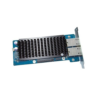 Carte d'extension de réseau local 10 Gigabit à double port QNAP-10G2T-D pour TS-870