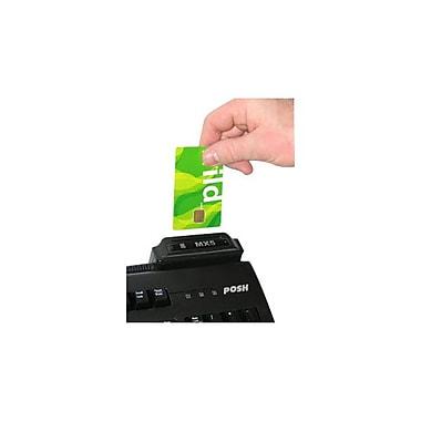 POSH Mx5C-SC-USB USB IC Smart Flash Upgradeable Card Reader/Writer,Black(Mx5C-SC-USB)