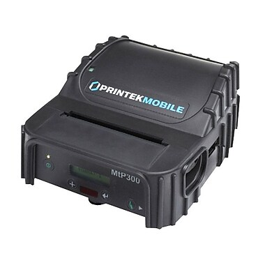 Printek® MtP300 Portable Monochrome Direct Thermal Printer,203 dpi,2.8