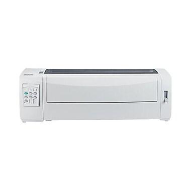 Lexmark™ 2591n+ 24 Pin 360 x360 dpi 136 Columns Monochrome Dot MatrixPrinter W/RJ-45/USB,556 cps(11C2957)
