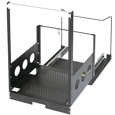 Raxxess Pull-Out Rack; 9U Spaces