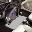 AutoExec Automobile Steering Wheel Attachable Work Surface