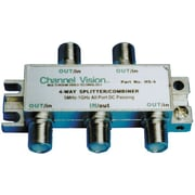 Channel Vision 4 Way Splitter/Coupler