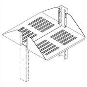 Chatsworth Double Sided Vented Shelf for 19'' Racks; White