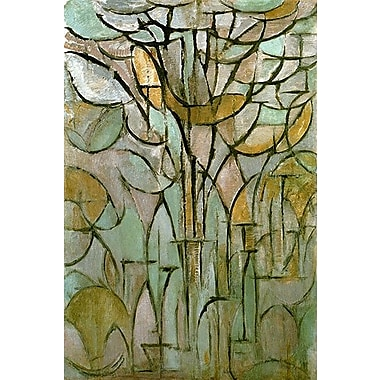 iCanvas 'Tree, 1912' by Piet Mondrian Graphic Art on Wrapped Canvas; 18'' H x 12'' W x 1.5'' D