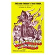 iCanvasArt Werewolves on Wheels Movie Vintage Advertisement on Canvas; 12'' H x 8'' W x 0.75'' D