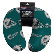 Northwest Co. NFL Beaded Span Neck Pillow; Miami Dolphins