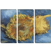iCanvas Sunflowers 1887 Canvas Print Wall Art; 26'' H x 40'' W x 1.5'' D