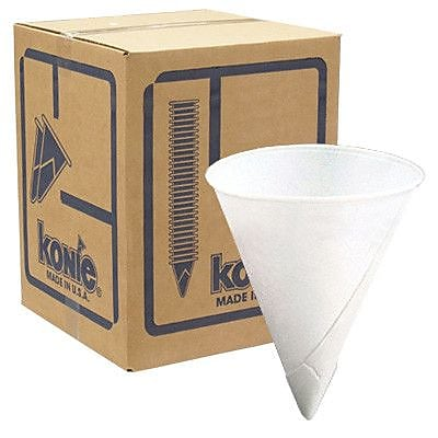 Swift Konie 4.5 Oz Rolled Rim Cone Cup (5000 Pack) WYF078276861468