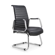 Whiteline Imports Oxford Mid-Back Office Chair; Black