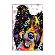 iCanvas 'Border Collie' by Dean Russo Graphic Art on Canvas; 60'' H x 40'' W x 1.5'' D
