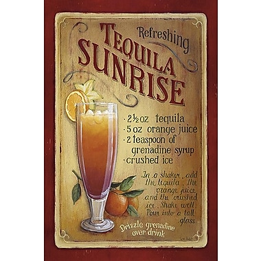 iCanvas Decorative Art ''Tequila Sunrise'' by Lisa Audit Painting Print on Wrapped Canvas