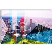 iCanvas Toronto's Financial District, Canada 2 Graphic Art on Canvas; 12'' H x 18'' W x 0.75'' D