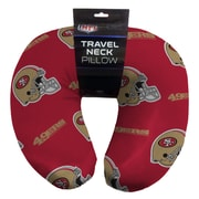 Northwest Co. NFL Beaded Span Neck Pillow; San Francisco 49ers