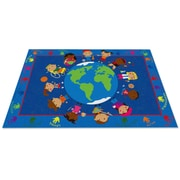 Kid Carpet World Character Classroom Kids Area Rug; 4' x 6'