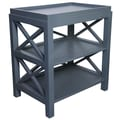 Muse Sulivan End Table; Mink Grey