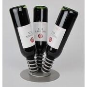 Metrotex Designs Industrial Evolution 3 Bottle Tabletop Wine Rack