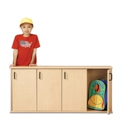 Young Time 1 Tier 4 Wide Kids Locker; Ready to Assemble