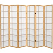 Oriental Furniture 71'' Double Cross Room Divider