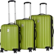 CalPak Morai 3 Piece Luggage Set; Apple Green