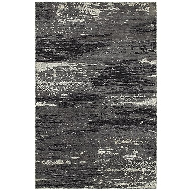 LR Resources Rajani Gray Rug; 10' x 14'