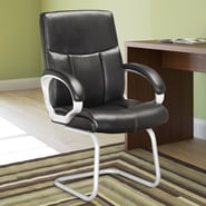 dCOR design Workspace Mid-Back Conference Chair with Arms (Set of 2)