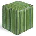 Fab Rugs World Cancun Cube Ottoman