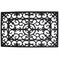 J&M Home Fashions Wrought Iron Welcome Doormat; 18'' W x 30'' L x 0.5'' D