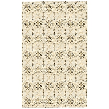 LR Resources Rajani Cream Geometric Rug; 4' x 6'