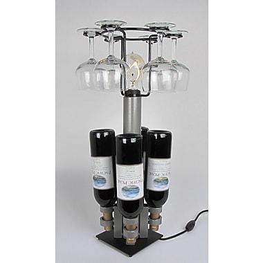 Metrotex Designs 4 Bottle Tabletop Wine Rack